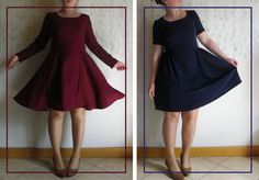 Histoire de Coudre: Transformer le top Jacinthe en robe