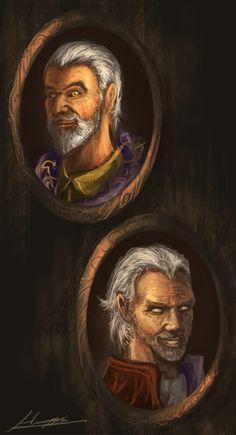 Sheogorath by Huussii Dark Art Illustrations, Illustration Art, Daedric Prince, Elder Scrolls Games, Oblivion, Skyrim, Adventure Time, Pop Culture, Mona Lisa