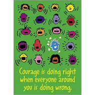 TA-62760 Courage is doing right when… ARGUS<sup>®</sup> Poster