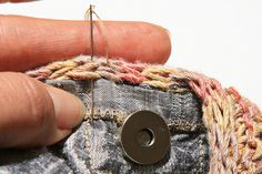 How to Line a Bag Tutorial by stitchdiva, via Flickr