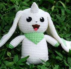 Lots of crochet Pokemon patterns