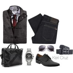 Classy Men's Fashion, created by keri-cruz on Polyvore