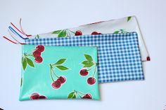 TUTORIAL - Oilcloth Pencil Case | Miss Mary Sewing Classes