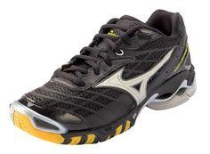 Mizuno Wave® Tornado™ 9 Women's Volleyball Shoe (Black/Purple ...