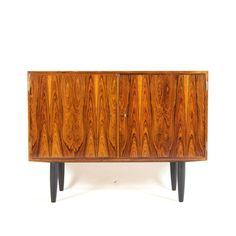 Retro Vintage Danish Hundevad Rosewood Sideboard Cabinet Mid Century 50s 60s 70s in Home, Furniture & DIY, Furniture, Sideboards, Buffets & Trolleys | eBay