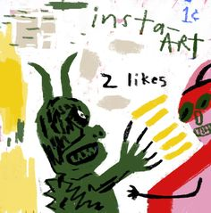 Instagram Monsters Andrew Shachat California Artist