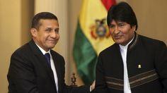 Evo Morales afirma que Perú apoya su propuesta de ferrocarril bioceánico | Radio Panamericana