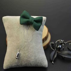 $8.99 - Bow Tie Lapel Pin These custom designed Lapel Pin's are a MUST HAVE! Designed with premium high quality material! DETAILS: Hand crafted with the classic 100% cotton fabric. All styles go get w
