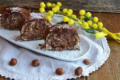 Girelle pavesini con crema rocher senza cottura,dolcetti sfiziosi e golosi da servire per dessert.Una ricetta da preparare in anticipo