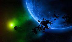 Sarebbe stato l'ultimo grande bombardamento meteoritico della Terra, avvenuto circa quattro miliardi di anni fa, a fornire l'energia necessaria alla creazione contemporanea e diffusa di grandi quantità delle basi azotate che formano RNA e DNA. A dimostrarlo è un esperimento che ha simulato gli effetti di quella remota pioggia di piccoli corpi extraterrestri.