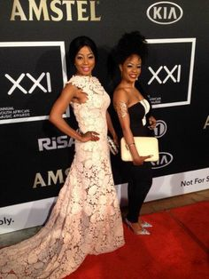 Kelly Khumalo And Her Sister Zandi Strapless Dress Formal, Formal Dresses, Music Awards, Take That, Celebrities, People, Fashion, Dresses For Formal, Moda