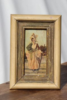 French. Antique Oil Painting. Signed Unique Piece от SooooFrenchy