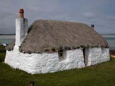 Scotland- a Crofter's Cottage