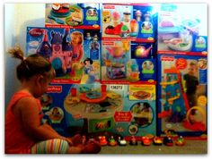 Fisher Price Learning Toys - why they rock, how we got ALL of these free for a party, and how to get more free stuff like this too :)