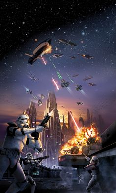 Battle of Coruscant (3600×6000)
