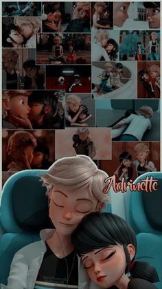 Adrian and Marinette Catnoir And Ladybug, Ladybug And Cat Noir, Meraculous Ladybug, Adrian And Marinette, Marinette Et Adrien, Miraculous Ladybug Wallpaper, Miraculous Ladybug Fan Art, Cute Disney Wallpaper, Cute Cartoon Wallpapers