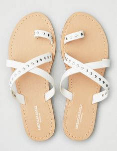 Studded Slide Sandal