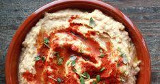 Hummus havner nok på topp 10-lista over hva vi spiser oftest hjemme hos meg.