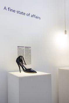 Explore Collection: A stiletto shoe permanent display) Museum Shop, Stiletto Shoes, Display, Explore, Collection, Decor, Floor Space, Decorating, Billboard