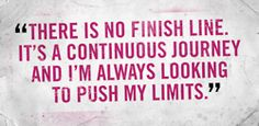 There is no finish line. It's a continuous journey and I'm always looking to push my limits! #fitness #runhades #mamavation