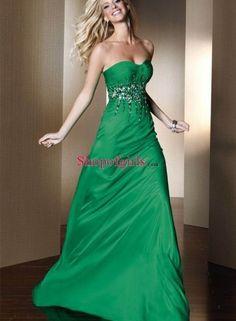 new green prom dress