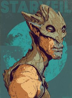 Limb, from my comic 'StarVeil'! Dave Rapoza (737×1000)
