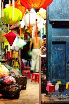 Lantern Shop in Hoi An, Vietnam