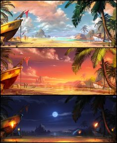 The Beach by walachnia on deviantART