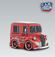 Truck Milk Truck Coca Cola
