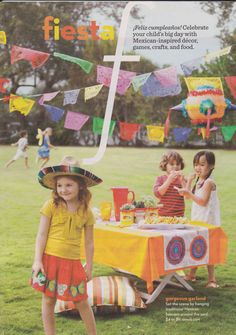 fiesta party idea...