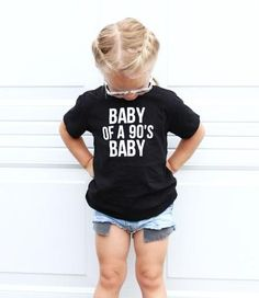 Baby of a Baby Youth Tee - September 14 2019 at Baby Kind, My Baby Girl, Baby Love, Baby Baby, Baby Girl Stuff, Pretty Baby, Baby Girls, Baby Outfits, Kids Outfits
