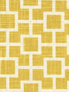 Yellow Geometric Linen Upholstery Fabric - Lemon Yellow White Curtain Material - Geometric Throw Pillow - Yellow Table Linen Fabric Online by PopDecorFabrics on Etsy https://www.etsy.com/listing/151075424/yellow-geometric-linen-upholstery-fabric