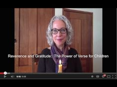 Reverence and Gratitude: The Power of Verses for Children - YouTube