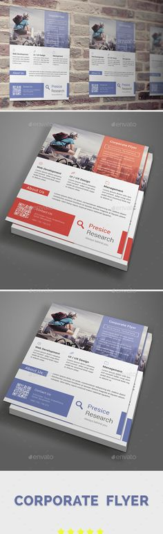 Corporate Flyer Template PSD. Download here: http://graphicriver.net/item/corporate-flyer-template/15345690?ref=ksioks