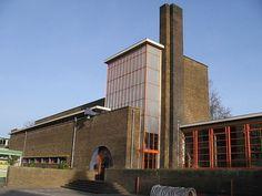 Dudok, Vondelschool, Hilversum 1929