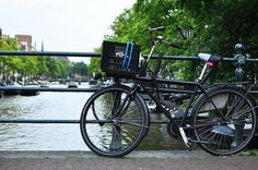 Bikes and Canal