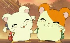 Hamtaro, cute and funny show Hamtaro, Sanrio Characters, Cute Characters, Sparks Joy, Cartoon Art Styles, Cute Hamsters, Cartoon Games, Kawaii Cute, Kawaii Stuff