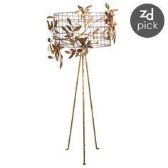 Stray Dog Designs Cooley Floor Lamp  from @Zinc_door #wire #trend #industrial