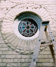 Lynette Richards' Rose Window Stained Glass