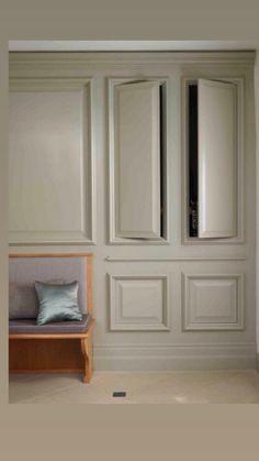Trendy Hidden Storage Design Built Ins Ideas Wall Storage, Built In Storage, Laundry Storage, Bedroom Storage, Diy Bedroom, Bedroom Ideas, Conservatory Kitchen, Secret Rooms, Storage Design