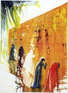 Salvador Dali - Wailing Wall