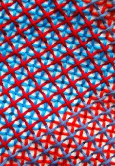 Interesting cross stitch pattern