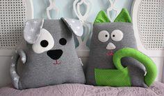 Poduszka ,przytulanka -piesek . - Karmelki-by-Ania - Poduszki dla dzieci