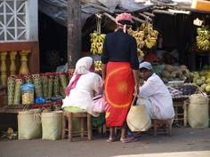 petit marché à Madagascar