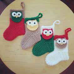 Owl mini socks