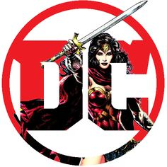 DC Logo for Wonder Woman  |  Ver.2 by piebytwo.deviantart.com on @DeviantArt