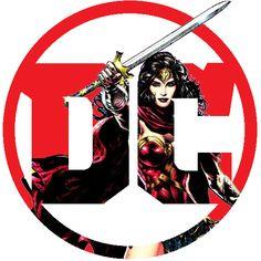 DC Logo for Wonder Woman  |  Ver.2 by piebytwo.deviantart.com on @DeviantArt