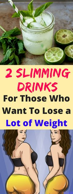 2 Slimming Drinks For Those Who Want To Lose a Lot of Weight – Fitnez Feed