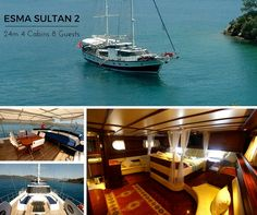 Influenced with a hint of Ottoman interior design 8 person ESMA SULTAN 2 for your next travels in the Greek islands