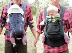 a great article on Optimal Positioning and Baby Carriers!